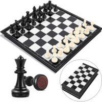Gioco scacchi magnetico da viaggio