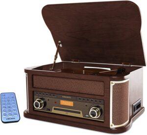 Radio in legno stile retrò