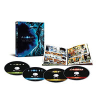 Alien Quadrilogy (4 Blu-Ray+Fumetto)