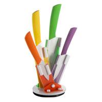 Ceppo 4 coltelli in ceramica