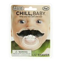Ciucciotto per neonati con baffi