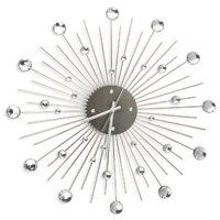 Orologio da parete decorato con strass