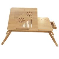 Tavolino PC portabile di bambù