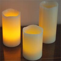 candele LED senza fiamma con telecomando