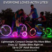 Illuminazione LED per bici