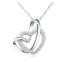 "Collana in argento ""Loving You A Lifetime"""
