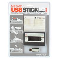 Contenitore chiavetta USB a forma di Mix Tape