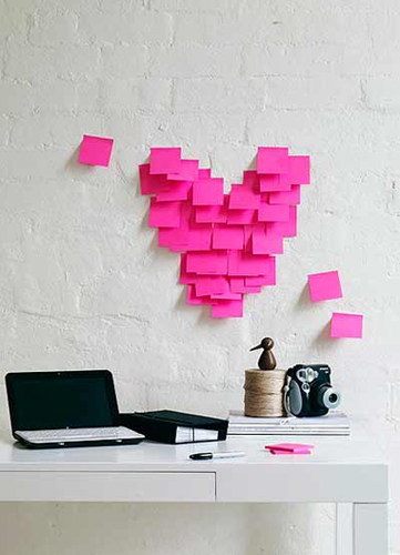 cuore post-it