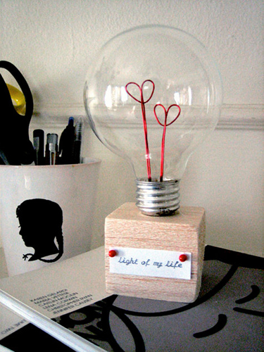 lampada san valentino