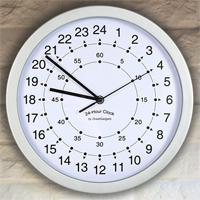 Orologio da parete 24 ore