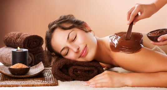 regalo massaggio al cioccolato per la festa della donna