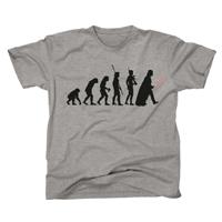 T-shirt Star Wars evolution