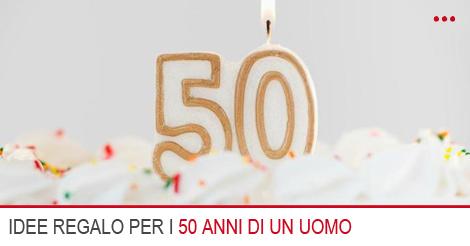 10 idee regalo per un uomo di 50 anni for Idee per regali di compleanno