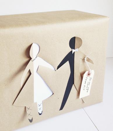 incartare regalo coppia