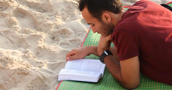 uomo lettura