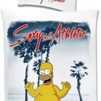 Biancheria Homer Simpson