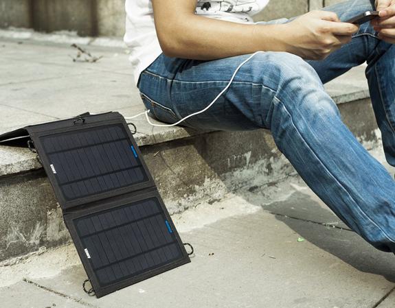 Caricatore solare per smartphone