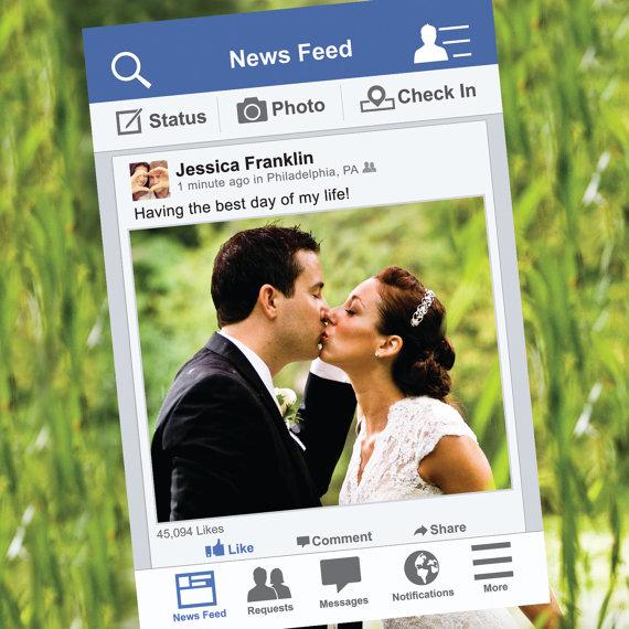Cornice Social Media per foto