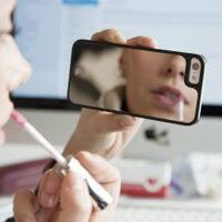 Cover specchio per smartphone
