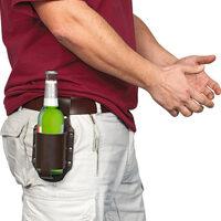 Fondina porta bottiglia di birra
