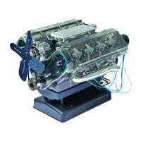 Kit montaggio modello motore V8