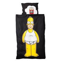 Lenzuolo e copricuscino Homer Simpson
