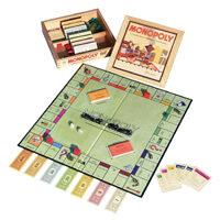 Monopoly Nostalgia - scatola in legno