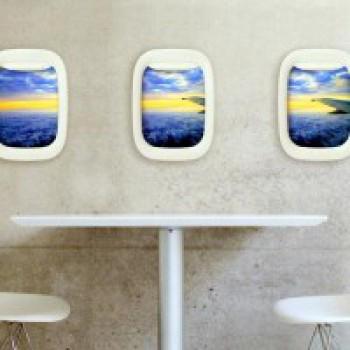 Portafoto finestrini aereo