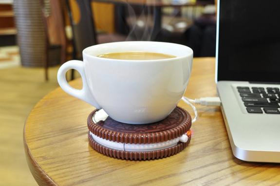 Scalda tazza USB a forma di biscotto