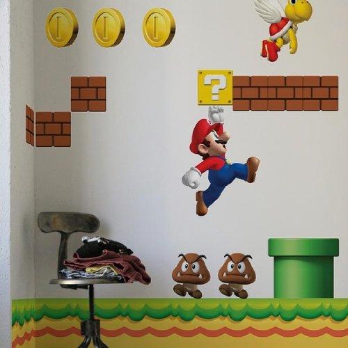 adesivi murali Super Mario