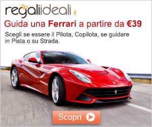 Guida una Ferrari su pista!