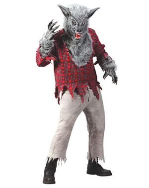 costume licantropo halloween