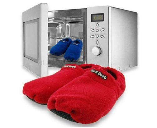 hot sox pantofole riscaldanti per combattere il freddo