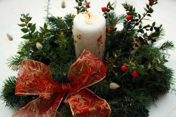 70 regali di natale fai da te - Centro tavola natalizio fai da te ...