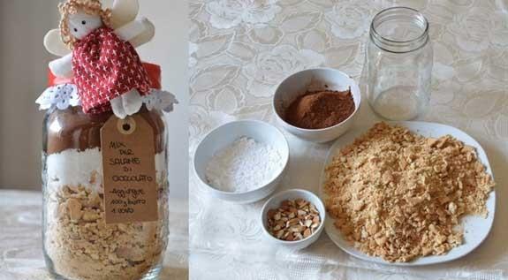Preparato per dolci in barattolo