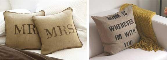 cuscini personalizzati fai da te