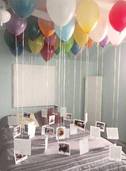 palloncini con foto romantici