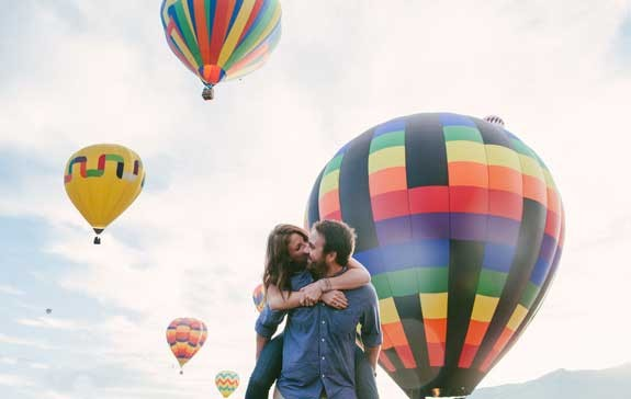 volo mongolfiera per coppia sorpresa