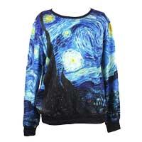 "Felpa ""Notte Stellata"" van Gogh"