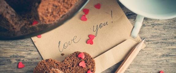 biglietto amore scritto a mano
