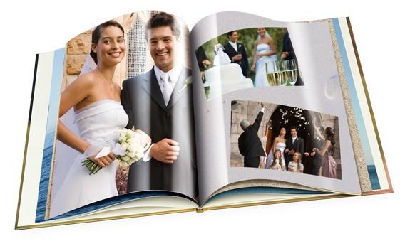fotolibro per nozze argento