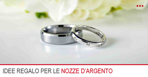 Regali in argento per matrimonio