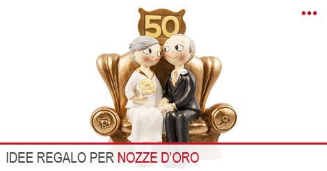 Regali nozze d 39 oro le idee regalo per i 50 anni di matrimonio for Idee regalo per venticinque anni di matrimonio
