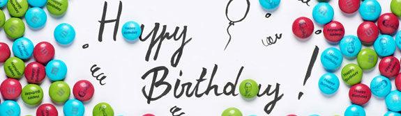 m&ms personalizzati compleanno