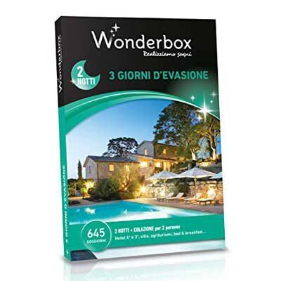 3 GIORNI D'EVASIONE - Wonderbox