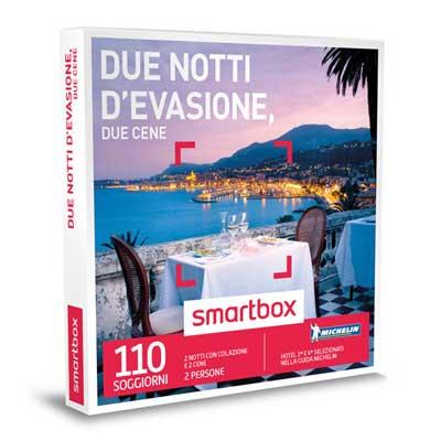 DUE NOTTI D'EVASIONE, DUE CENE - Smartbox