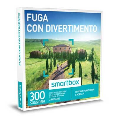 FUGA CON DIVERTIMENTO - Smartbox
