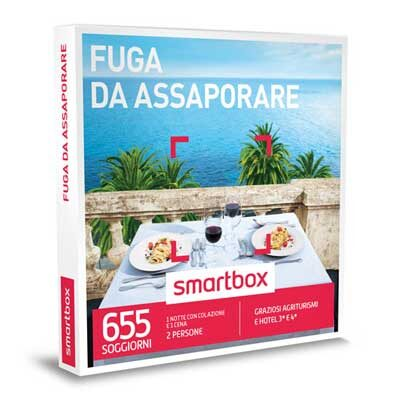 FUGA DA ASSAPORARE - Smartbox