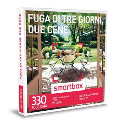 FUGA DI TRE GIORNI, DUE CENE - Smartbox