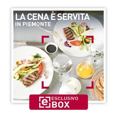La cena è servita in Piemonte - Smartbox